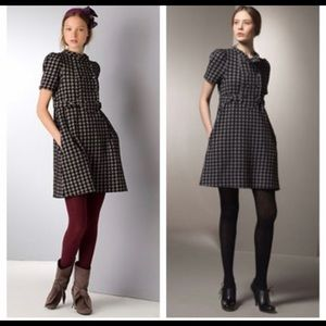 Marc Jacobs Houndstooth Mid Dress
